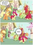 Applejack's real evil tears part 3 by Michaelsety