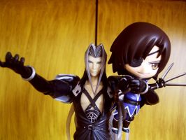 Sephiroth Wielding Masamune by wurpess2