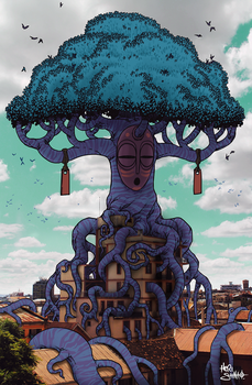 GIANT TREE by Heri-Shinato