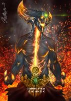 MORTAL KOMBAT X CORRUPTED SHINNOK by Grapiqkad