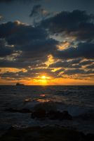 Ashkelon sunset by GorALexeY