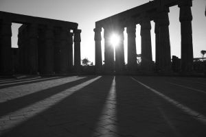 Luxor Temple by Jade-Rat