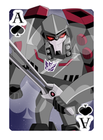 Ace of Spades Megatron by Shioji-san