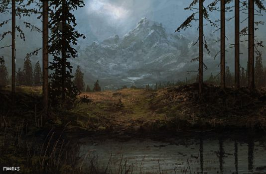 Mountain Mist by zmoores