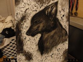 Black Wolf by Tanahachi