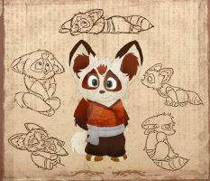34 - Koto the II, Son of Shifu by FaithFirefly