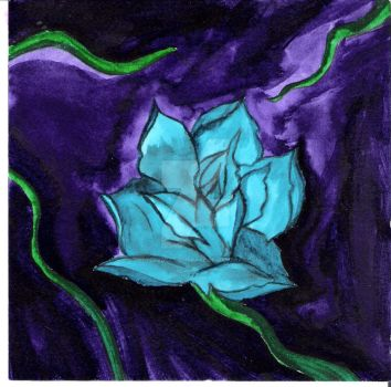 Rarest Rose Base Painting by Bittersweet-Embrace