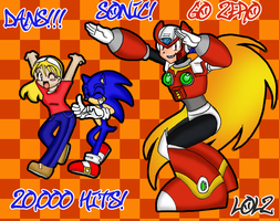 20k Pageviews OMG by SonicRocksMySocks