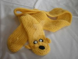 Jake The Dog Scarf by geekyfrancy