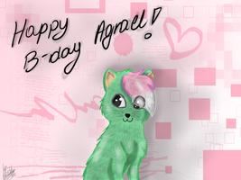 G: Happy B-Day Agrael! :D by Pixel-Candy