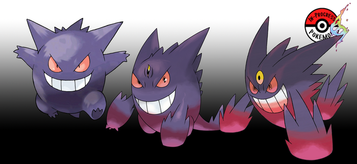 094 Mega Gengar by InProgressPokemon