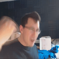 Markiplier shaking his hand by SOAP687