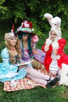 What a Mad Tea Party it is by NoFlutter