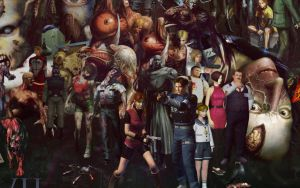 Resident Evil Poster (Crop #02) by marblegallery7