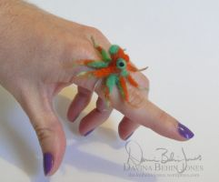 Octopus Ring by FamiliarOddlings