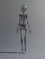 Anime Skeleton by Pharion