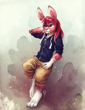 Ralix - Commission by TasDraws