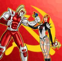 Omega Red's Valentine by City-of-Zeroes