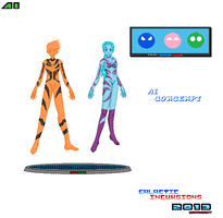 Character Concept AI Concept 3 Group Pixel Art by Luckymarine577