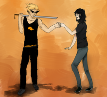 Request: Fist Bump by Akyia