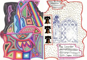 Mailart to Miss Lovender by JimmyMcCullough