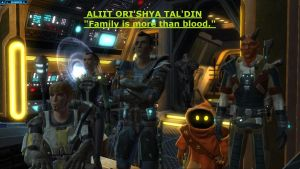 Aliit Means Family to a Bounty Hunter by Overlordflinx