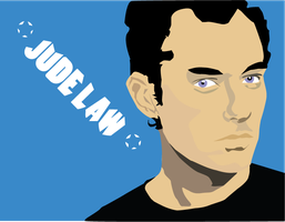 Jude Law Graphic 2 by monkeyoo