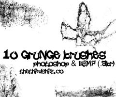 Grunge Brushes by thethiirdshift