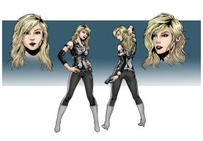 X-Girl - Comic Character Sheet by Elisa-Feliz