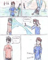 Korra vs. Percy by TheOneWhoLovesToEat