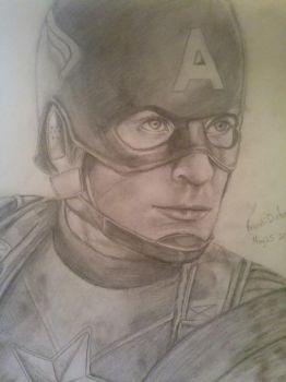 Captain America by NCIS413