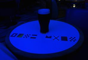 Guinness in the Blue Bar by sags