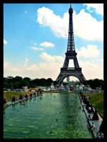 Eiffel Tower by Crisstyana