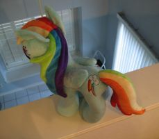 Rainbow Dash Plushie - 20% cooler by Yukizeal
