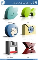 Dre-S Software Icons 15 by piscdong