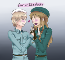 .:APH:. Finland x Hungary by SnowLady4Ever