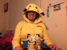 Me and my Pokemon by Tinkerbell0522