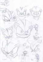 some Shadow sketches by Crueli