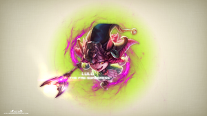 LoL - DragonTrainer Lulu Wallpaper ~xRazerxD by xRazerxD