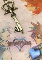 Kingdom Hearts DVD Cover by cozzybob