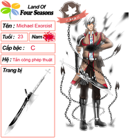 [ LandOf4Seasons ]: Michael Exorcist by ThienHoaLinh00