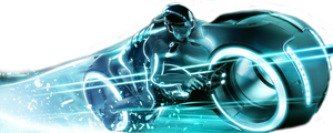 Lightcycle Tron Legacy by FrLegolas