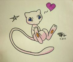 Mew! Pokemon by AroraNoelleSNSD-23