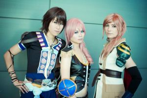 FFXIII-2 by PancakeStacks