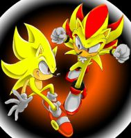 SUPER SONIC AND SHODOW by jamstars