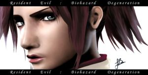 Claire Redfield - Close up by Julika-Nagara