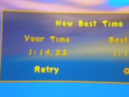 Spyro the Dragon 2 Ocean Speedway time score by PlatinumDrawings