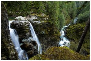 Nooksack Falls by Raymaker