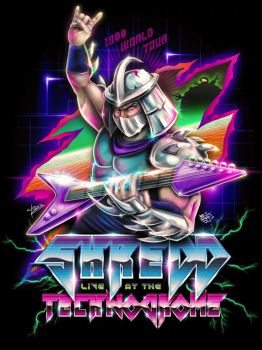 Retro Shredder by jpzilla