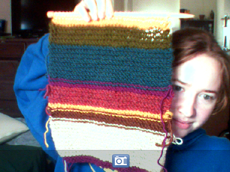 Dr. Who Scarf WIP by fallen-angel93